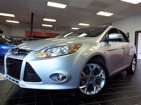 2012 Ford Focus for sale at SAINT CHARLES MOTORCARS in Saint Charles IL