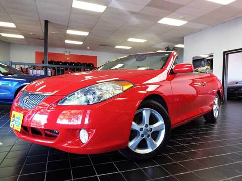 2004 Toyota Camry Solara for sale at SAINT CHARLES MOTORCARS in Saint Charles IL