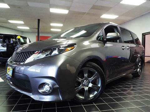 2015 Toyota Sienna for sale at SAINT CHARLES MOTORCARS in Saint Charles IL