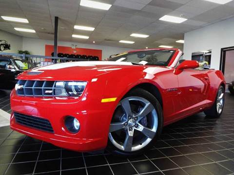 2011 Chevrolet Camaro for sale at SAINT CHARLES MOTORCARS in Saint Charles IL