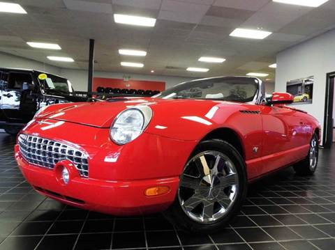 2003 Ford Thunderbird for sale at SAINT CHARLES MOTORCARS in Saint Charles IL