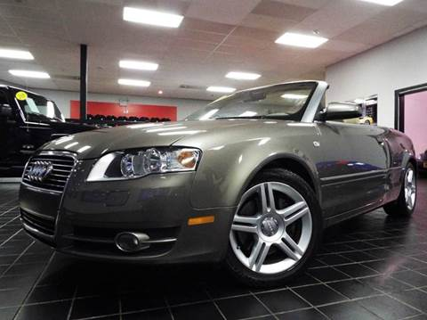 2008 Audi A4 for sale at SAINT CHARLES MOTORCARS in Saint Charles IL