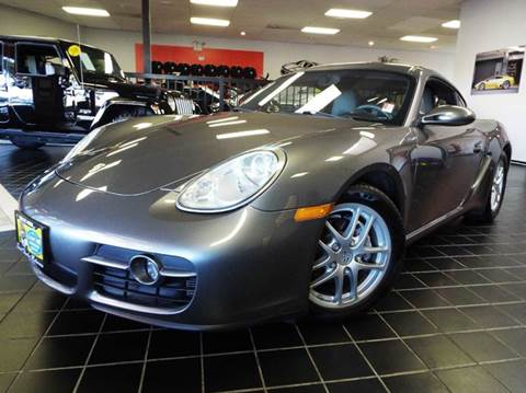 2007 Porsche Cayman for sale at SAINT CHARLES MOTORCARS in Saint Charles IL