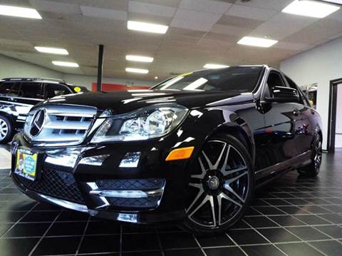 2013 Mercedes-Benz C-Class for sale at SAINT CHARLES MOTORCARS in Saint Charles IL