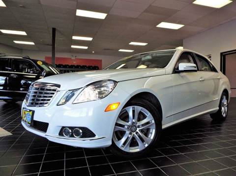 2010 Mercedes-Benz E-Class for sale at SAINT CHARLES MOTORCARS in Saint Charles IL