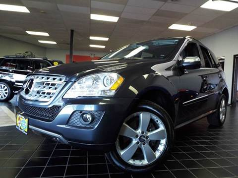 2010 Mercedes-Benz M-Class for sale at SAINT CHARLES MOTORCARS in Saint Charles IL