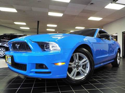 2014 Ford Mustang for sale at SAINT CHARLES MOTORCARS in Saint Charles IL