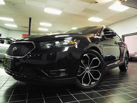 2014 Ford Taurus for sale at SAINT CHARLES MOTORCARS in Saint Charles IL