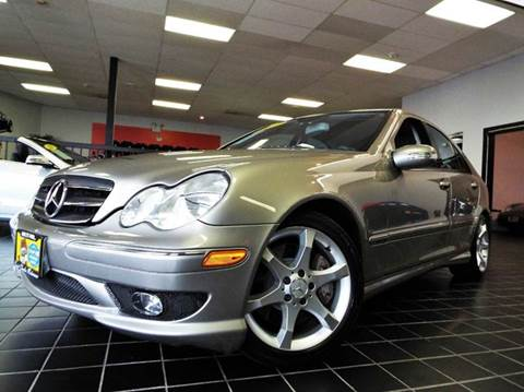 2007 Mercedes-Benz C-Class for sale at SAINT CHARLES MOTORCARS in Saint Charles IL
