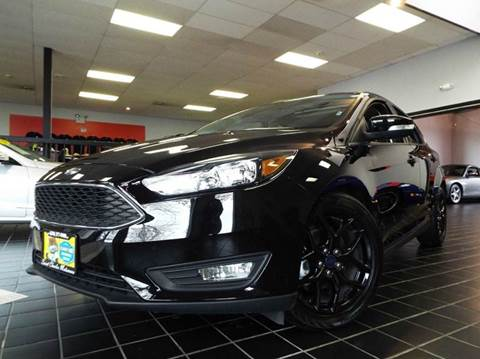 2016 Ford Focus for sale at SAINT CHARLES MOTORCARS in Saint Charles IL