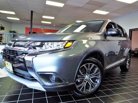 2016 Mitsubishi Outlander for sale at SAINT CHARLES MOTORCARS in Saint Charles IL