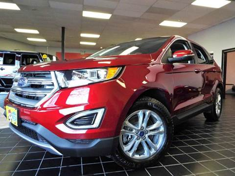 2015 Ford Edge for sale at SAINT CHARLES MOTORCARS in Saint Charles IL