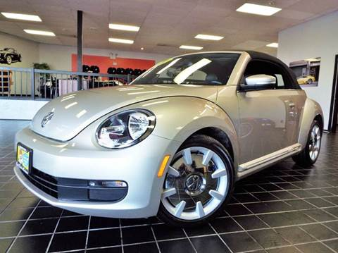 2013 Volkswagen Beetle for sale at SAINT CHARLES MOTORCARS in Saint Charles IL