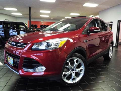 2014 Ford Escape for sale at SAINT CHARLES MOTORCARS in Saint Charles IL