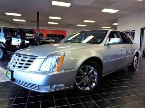 2010 Cadillac DTS for sale at SAINT CHARLES MOTORCARS in Saint Charles IL
