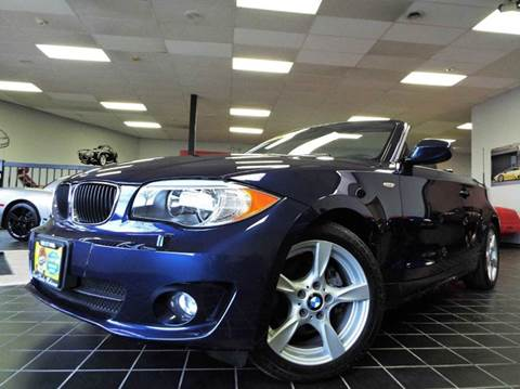 2013 BMW 1 Series for sale at SAINT CHARLES MOTORCARS in Saint Charles IL