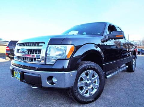 2014 Ford F-150 for sale at SAINT CHARLES MOTORCARS in Saint Charles IL