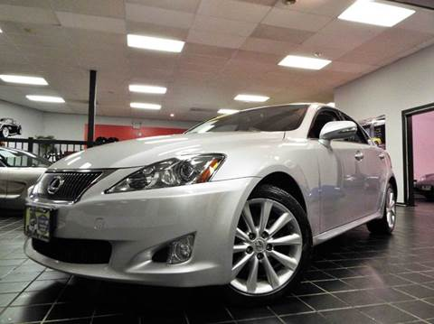 2010 Lexus IS 250 for sale at SAINT CHARLES MOTORCARS in Saint Charles IL