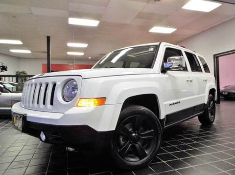 2014 Jeep Patriot for sale at SAINT CHARLES MOTORCARS in Saint Charles IL