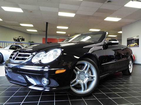 2009 Mercedes-Benz CLK for sale at SAINT CHARLES MOTORCARS in Saint Charles IL