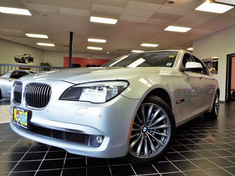 2011 BMW 7 Series for sale at SAINT CHARLES MOTORCARS in Saint Charles IL