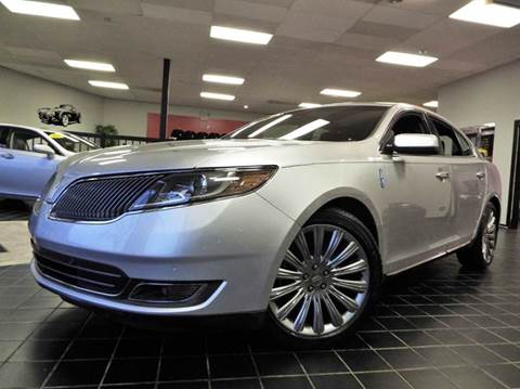 2015 Lincoln MKS for sale at SAINT CHARLES MOTORCARS in Saint Charles IL
