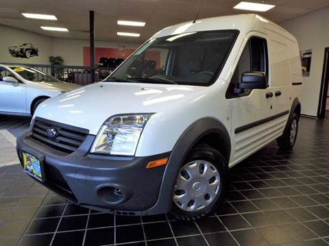 2013 Ford Transit Connect for sale at SAINT CHARLES MOTORCARS in Saint Charles IL