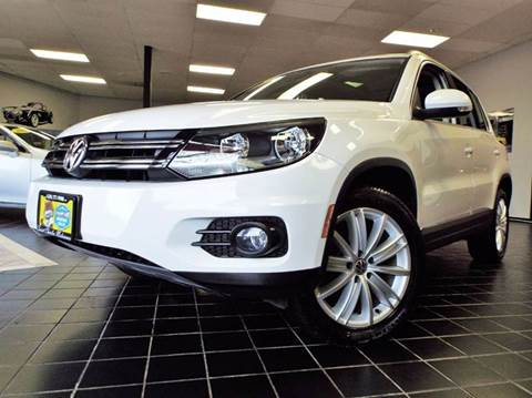 2013 Volkswagen Tiguan for sale at SAINT CHARLES MOTORCARS in Saint Charles IL