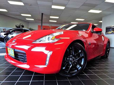 2016 Nissan 370Z for sale at SAINT CHARLES MOTORCARS in Saint Charles IL