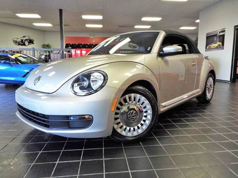 2015 Volkswagen Beetle for sale at SAINT CHARLES MOTORCARS in Saint Charles IL
