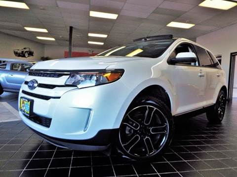 2013 Ford Edge for sale at SAINT CHARLES MOTORCARS in Saint Charles IL
