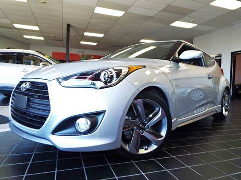 2014 Hyundai Veloster Turbo for sale at SAINT CHARLES MOTORCARS in Saint Charles IL