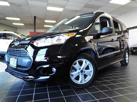 2016 Ford Transit Connect Wagon for sale at SAINT CHARLES MOTORCARS in Saint Charles IL