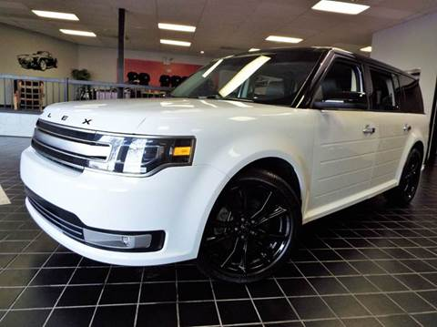 2016 Ford Flex for sale at SAINT CHARLES MOTORCARS in Saint Charles IL