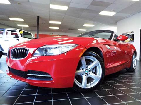 2015 BMW Z4 for sale at SAINT CHARLES MOTORCARS in Saint Charles IL