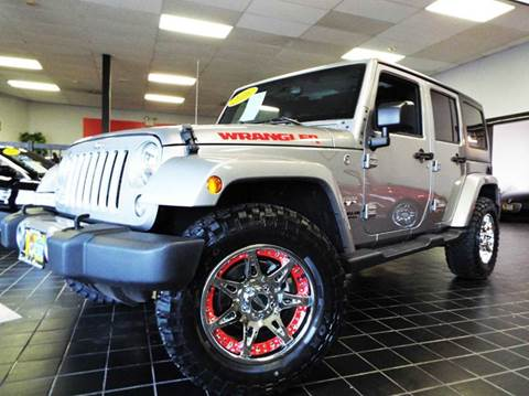 2016 Jeep Wrangler Unlimited for sale at SAINT CHARLES MOTORCARS in Saint Charles IL