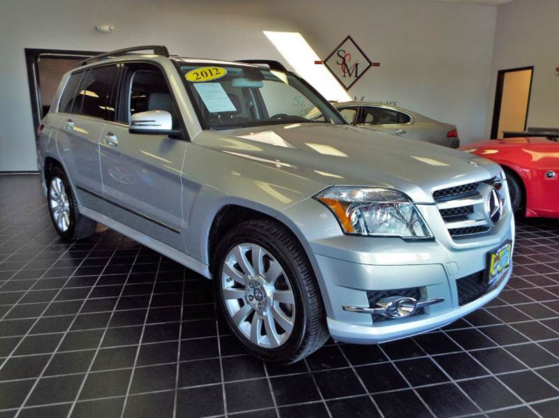 2012 Mercedes Benz Glk Awd Glk 350 4matic 4dr Suv In Saint Charles
