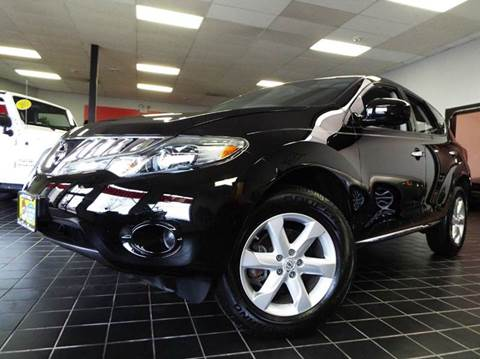 2009 Nissan Murano for sale at SAINT CHARLES MOTORCARS in Saint Charles IL