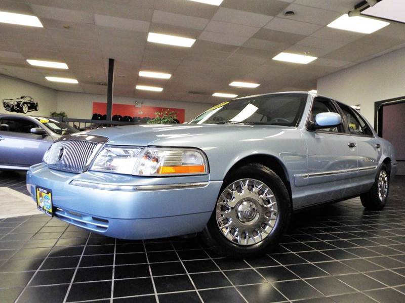 2003 Mercury Grand Marquis for sale at SAINT CHARLES MOTORCARS in Saint Charles IL