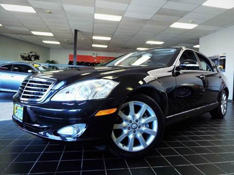 2008 Mercedes-Benz S-Class for sale at SAINT CHARLES MOTORCARS in Saint Charles IL
