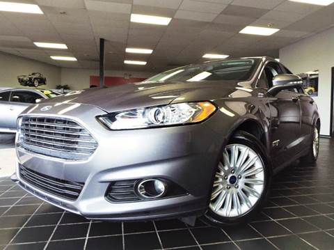 2014 Ford Fusion Energi for sale at SAINT CHARLES MOTORCARS in Saint Charles IL