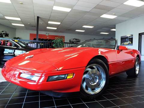 1996 Chevrolet Corvette for sale at SAINT CHARLES MOTORCARS in Saint Charles IL