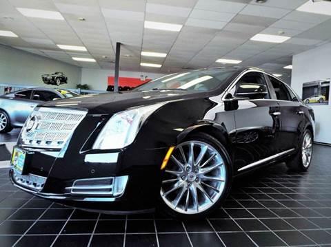2013 Cadillac XTS for sale at SAINT CHARLES MOTORCARS in Saint Charles IL