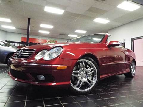 2005 Mercedes-Benz CLK for sale at SAINT CHARLES MOTORCARS in Saint Charles IL