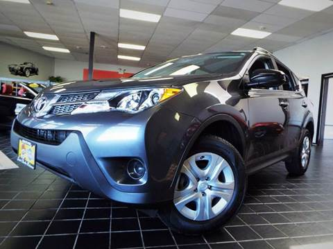 2014 Toyota RAV4 for sale at SAINT CHARLES MOTORCARS in Saint Charles IL