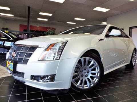 2011 Cadillac CTS for sale at SAINT CHARLES MOTORCARS in Saint Charles IL