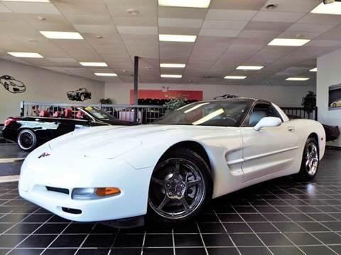1998 Chevrolet Corvette for sale at SAINT CHARLES MOTORCARS in Saint Charles IL