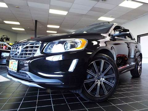 2016 Volvo XC60 for sale at SAINT CHARLES MOTORCARS in Saint Charles IL
