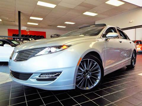 2015 Lincoln MKZ Hybrid for sale at SAINT CHARLES MOTORCARS in Saint Charles IL