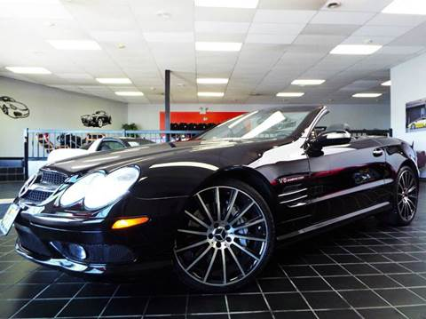2004 Mercedes-Benz SL-Class for sale at SAINT CHARLES MOTORCARS in Saint Charles IL
